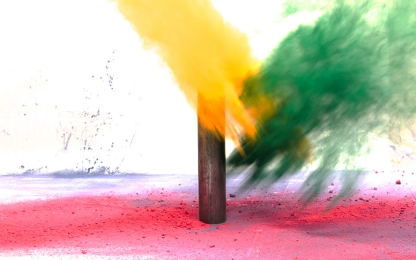 pintura en polvip